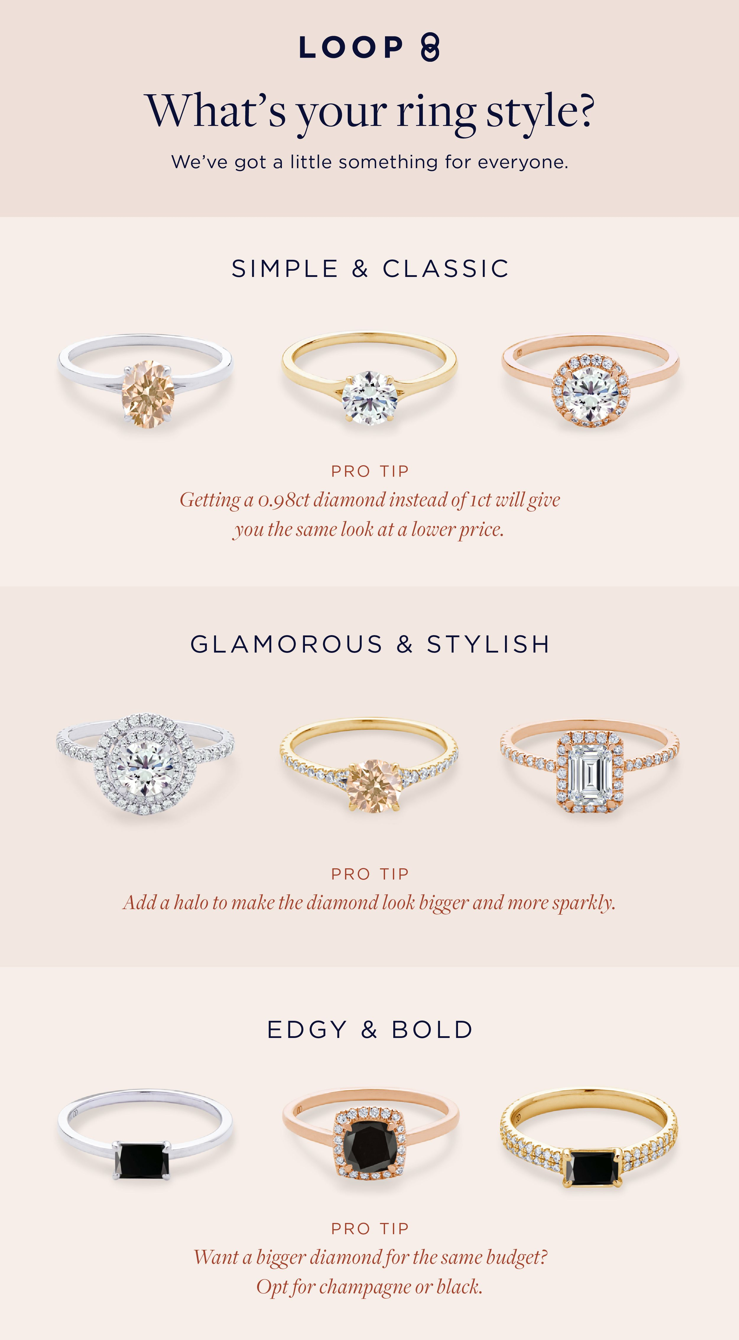 Find The Diamond Shape And Engagement Ring Setting Style That S Designed For Your Aesthetic Fashion Rings Diamond Wedding Rings Sets Classic Engagement Rings