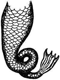 Mermaid Tail Mermaids Amp Sirens Mermaid Tail Drawing