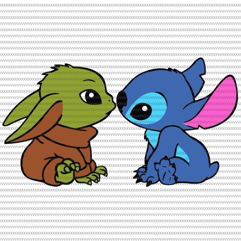 Baby Yoda And Stitch Mistletoe Christmas Baby Yoda Svg The Mandalorian The Child Baby Yoda Png Star Wars Svg Png The Child Png Tshirt Design Vector In 2020 Yoda Wallpaper