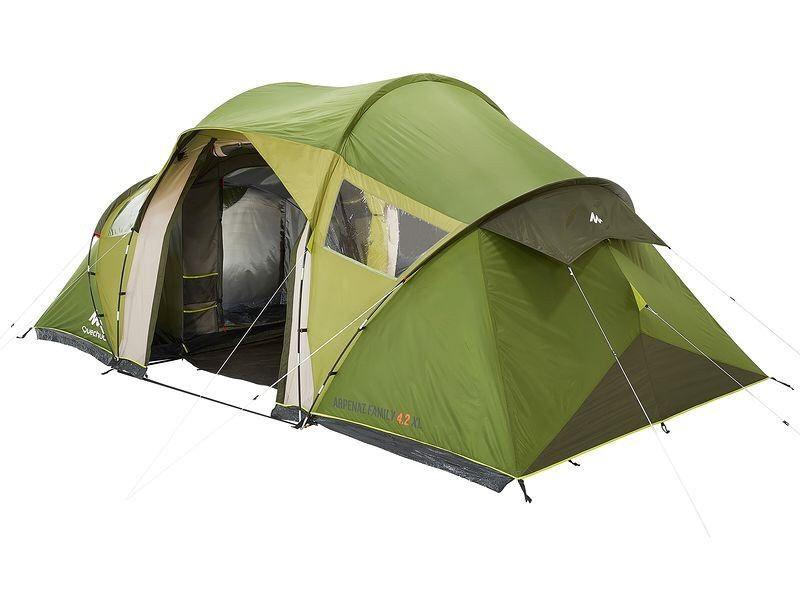 Tente Arpenaz Family 4 2 Xl Quechua Tente Decathlon Ventes Pas Cher Com Tente Decathlon Camping En Tente Decathlon