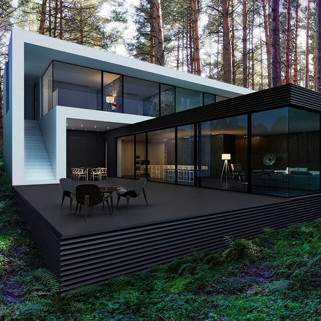 Who else wants this house? Kiedy House by M2 Architectural Group Located in Kiev, Ukraine © Aleksandr Zhidkov #restlessarch