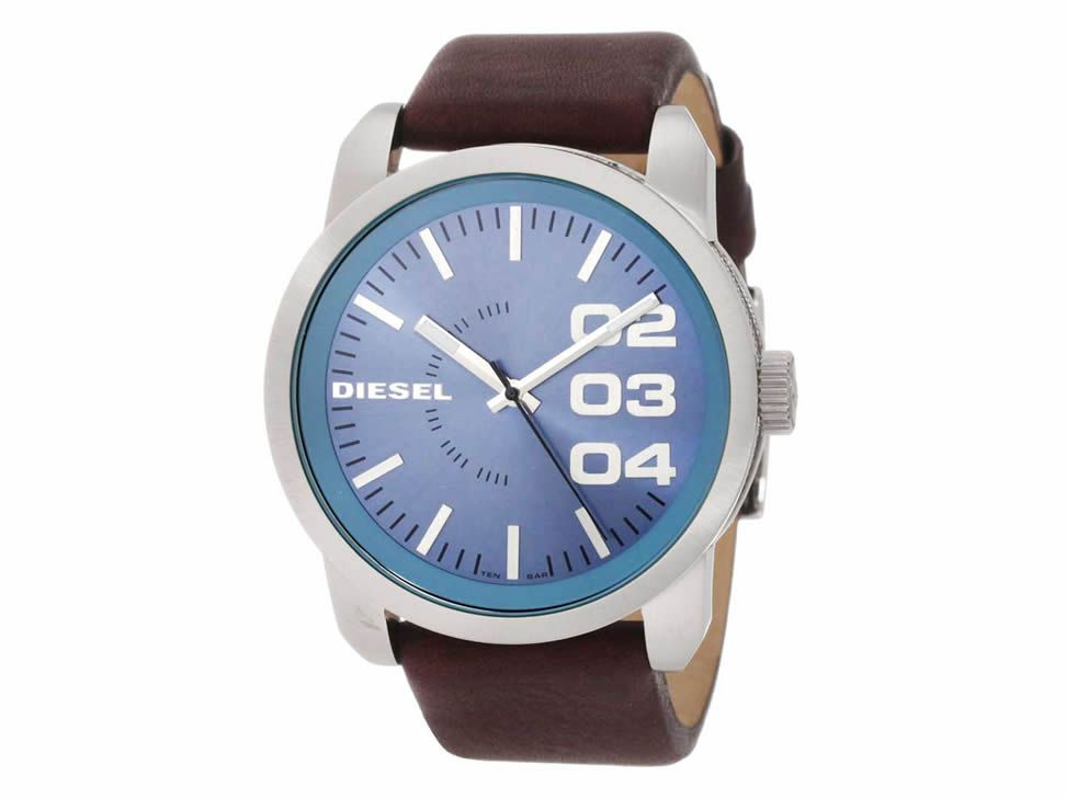 a7b725e47d18 Cuero Marrón Oscuro · Pulsera De Reloj · Reloj Diesel Franchise-Liverpool  es parte de MI vida Reloj Diesel