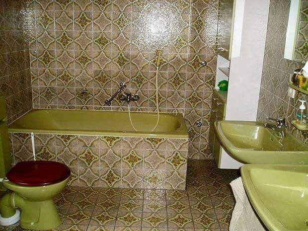 Badkamer jaren 70 80. jaren 60. pinterest bäder ideen bäder