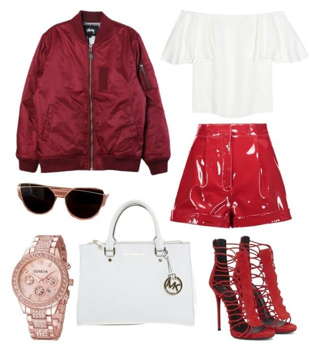 """""""pack and go CUBA"""" by libil on Polyvore featuring Michael Kors, Valentino and Stussy"""