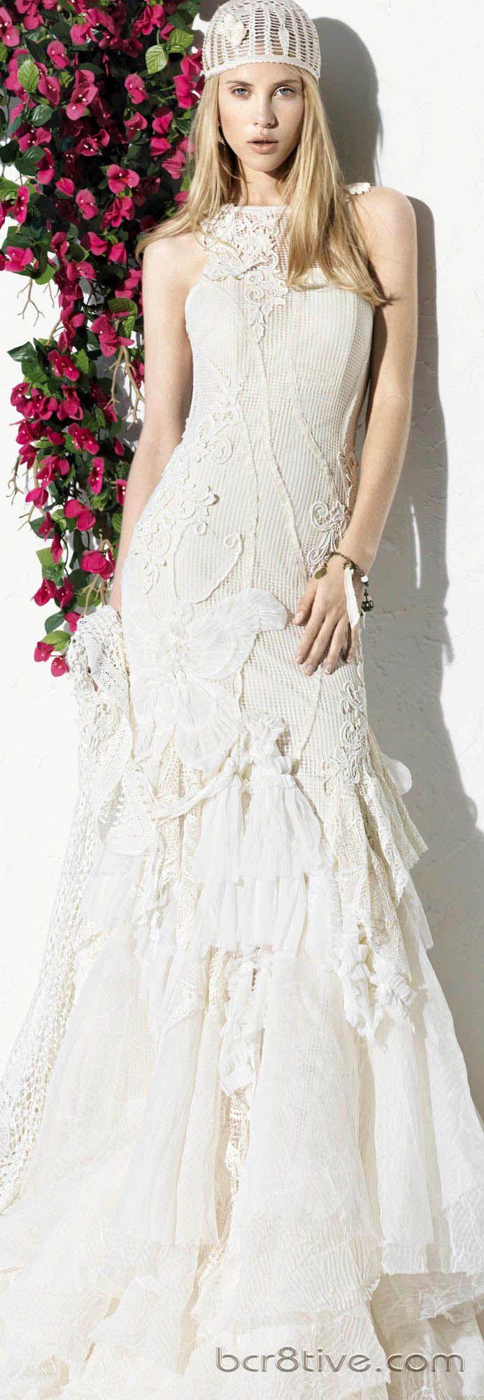 Yolan Cris 2013 Ibiza Bridal Collection   Hochzeitskleid und ...
