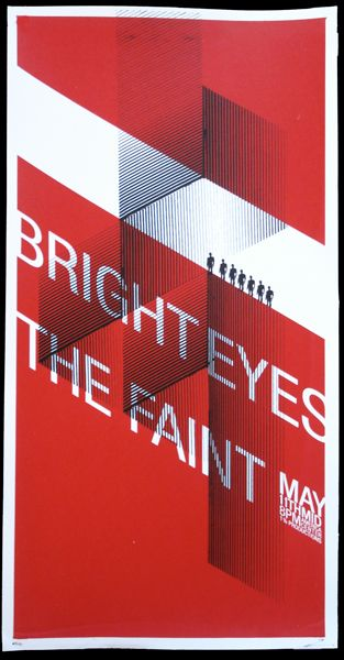 Bright Eyes/The Faint - Designed by Mike Weihs