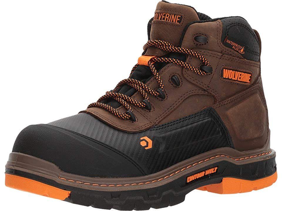 Wolverine Overpass Mid Composite Men S Work Boots Summer Brown
