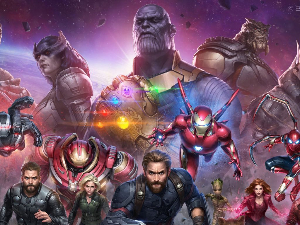 Desktop Wallpaper Avengers Infinity War Future Marvel Artwork