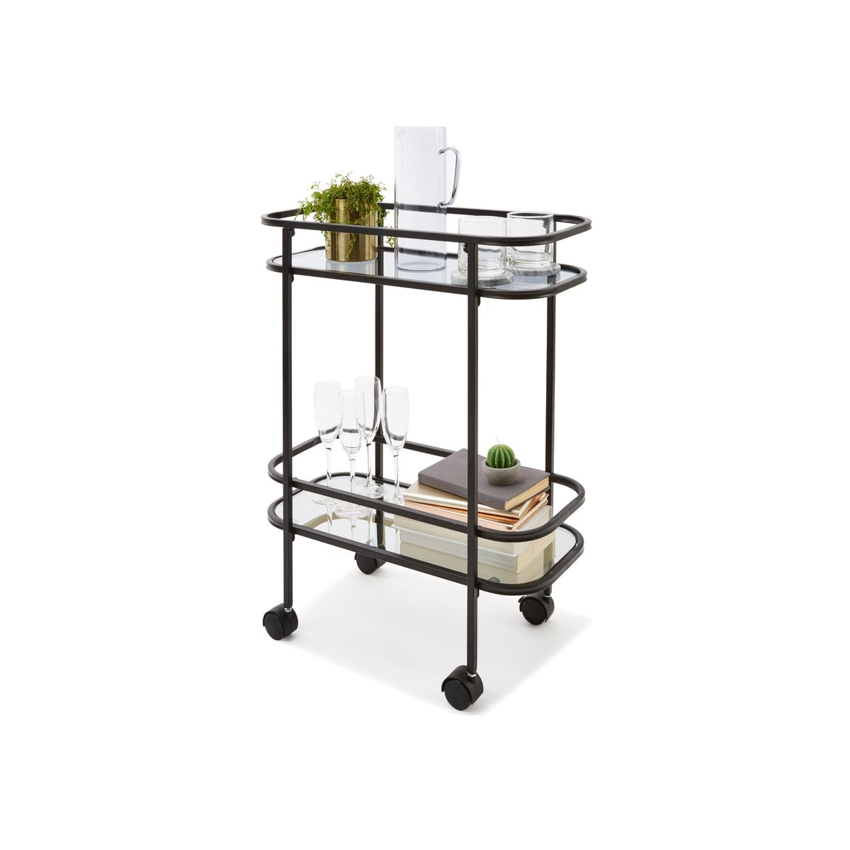 Drinks Trolley   Kmart (With images)   Drinks trolley ...
