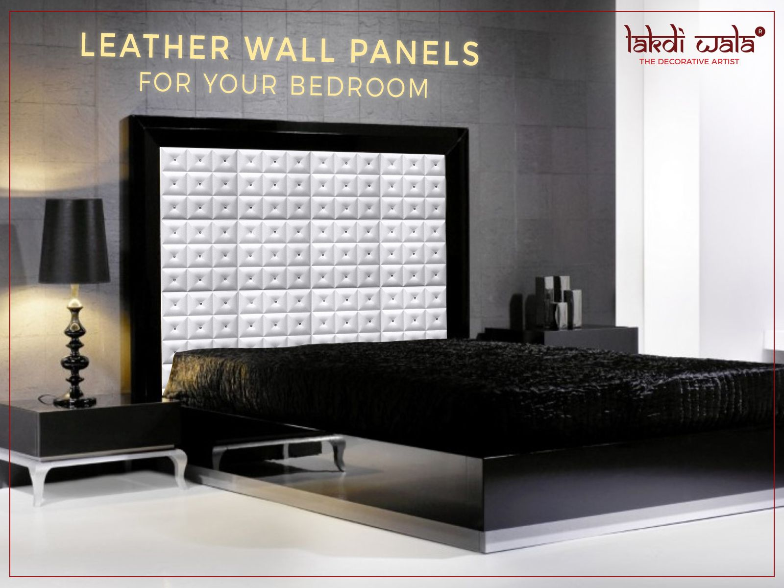 Shabby Chic Wall Paneling : Our panels provide a chic and classy look to your bedrooms. choose