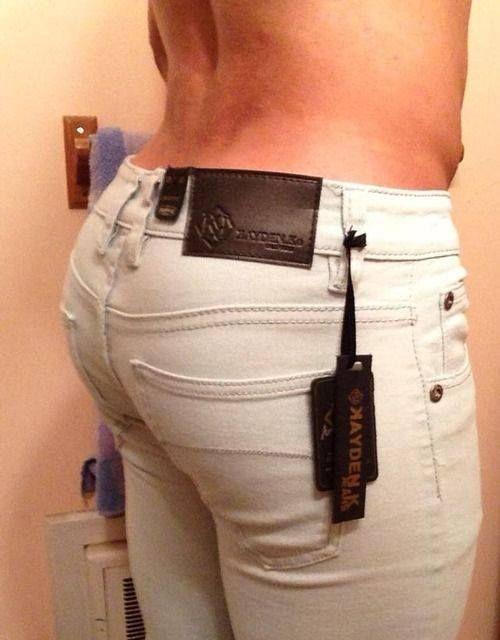 Mens sexy jean styles butt