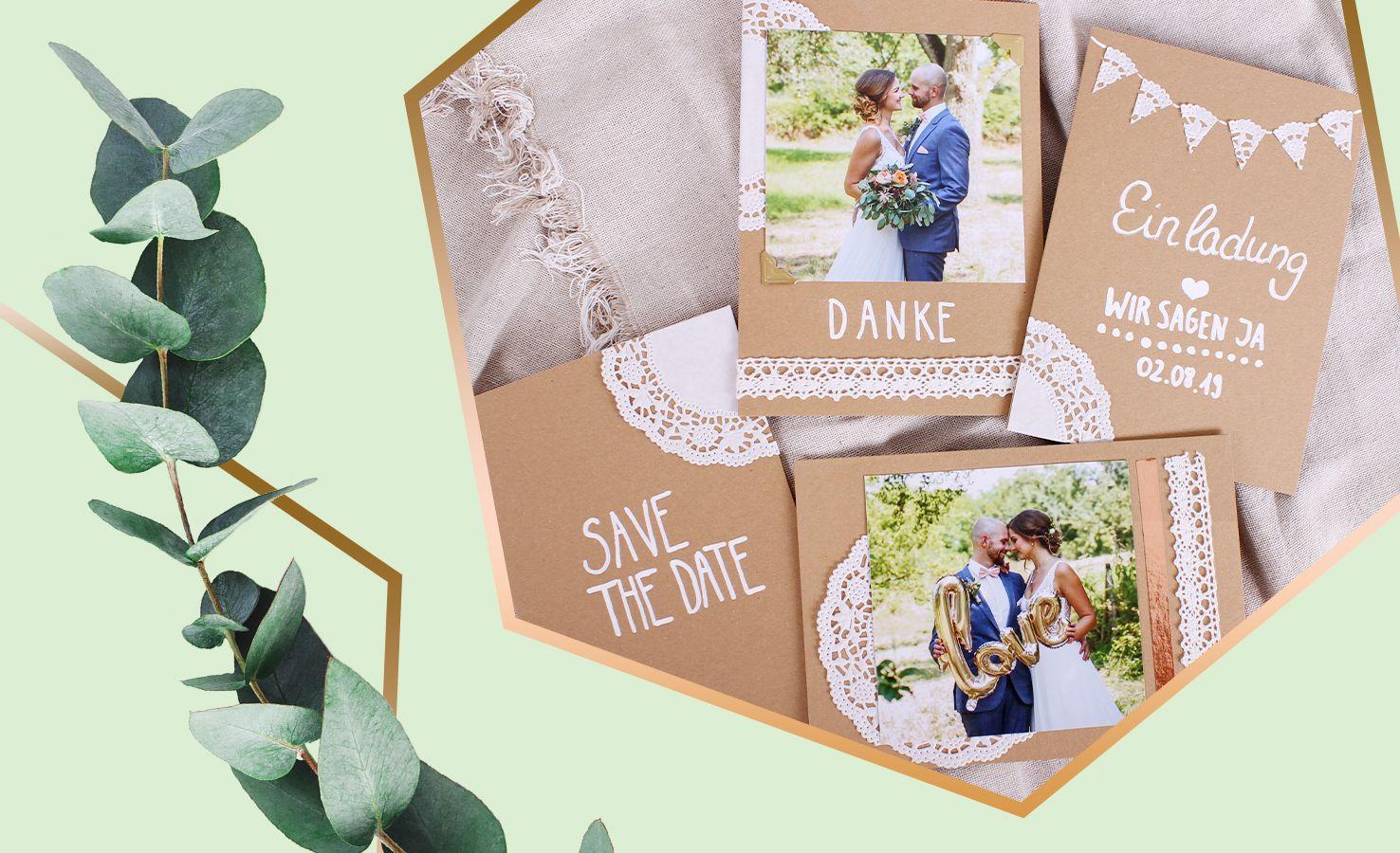 Dm Einladungskarten Hochzeit