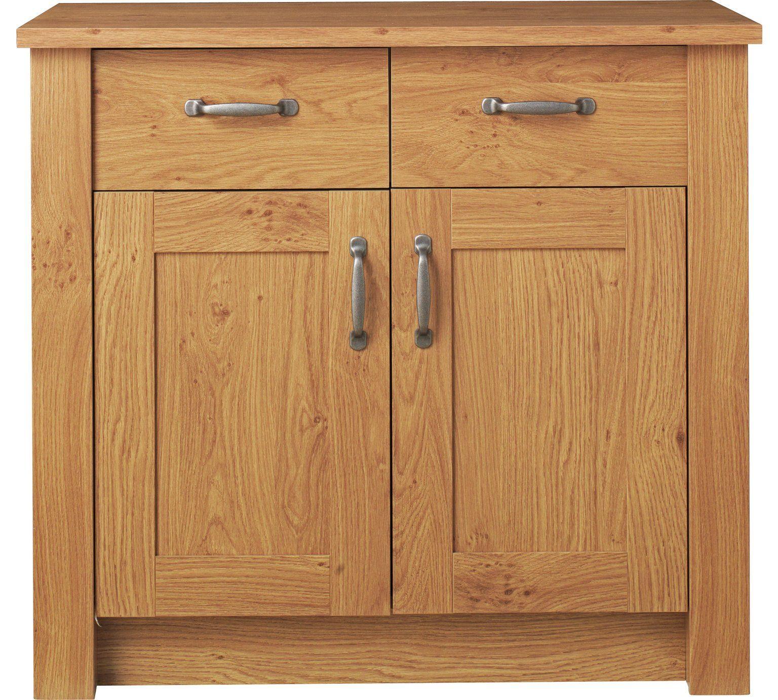 Buy Argos Home Ohio 2 Door 2 Drawer Sideboard Oak Effect Sideboards Argos Oak Sideboard Argos Home Home