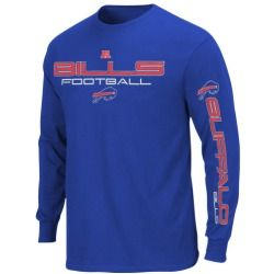 Buffalo Bills Primary Receiver III Long Sleeve T-Shirt - Royal Blue
