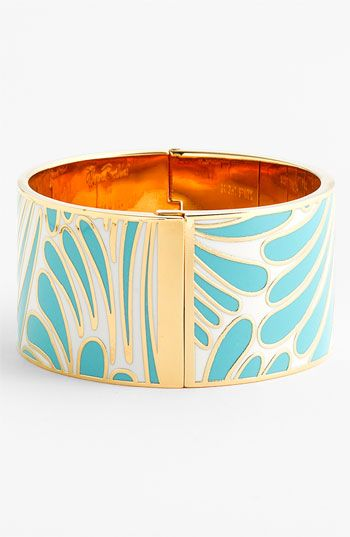 kate spade new york 'idiom - bright spark' wide bangle (Nordstrom Exclusive) available at Nordstrom