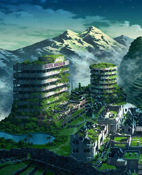 Japanese Sci Fi Art Iso50 Blog: 東京幻想 作品|東京幻想 OFFICIAL BLOG !!