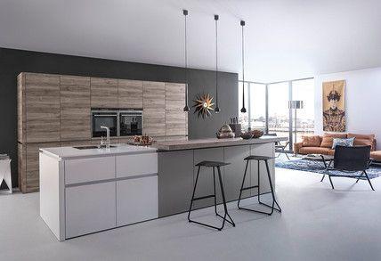 handleless kitchens - Google Search Extension Pinterest - küchen modern design