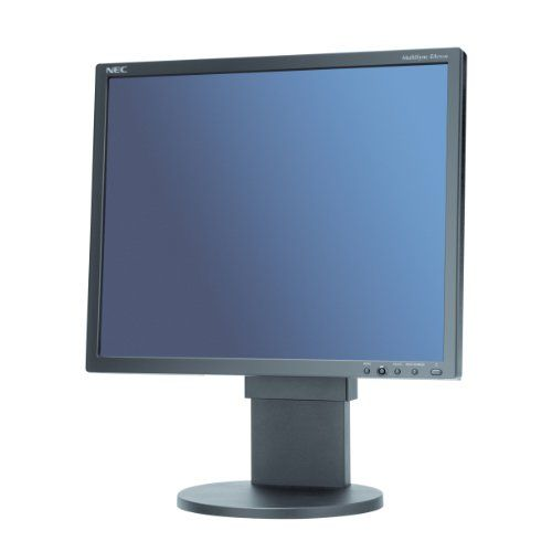 NEC EA192M 19IN LCD Monitor 1280X1024 VGA/ Dvi-d Spkr Blk