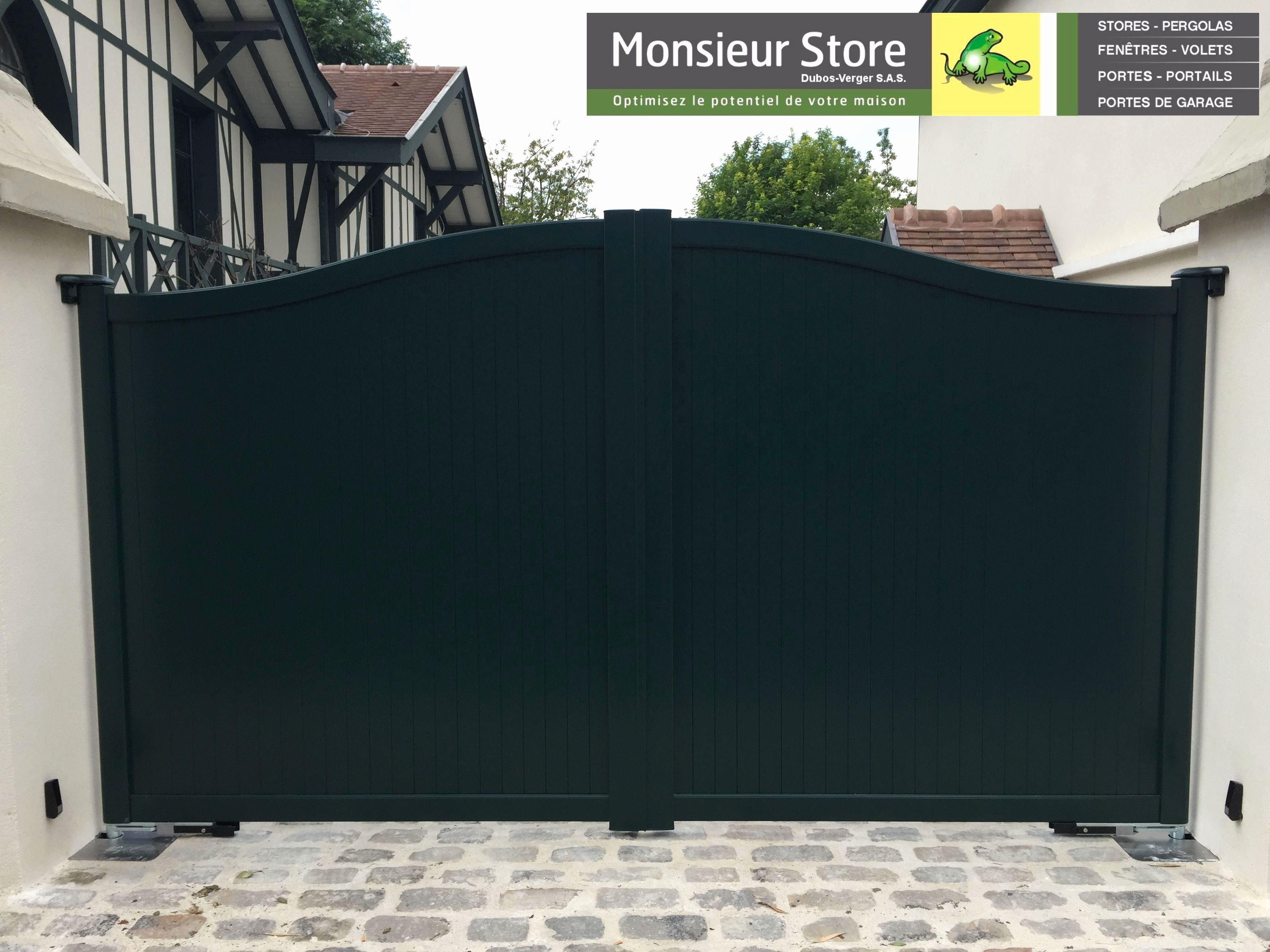 Lovely Motorisation Portail Battant Castorama Metal Fence Gates Fence Design Driveway Gate