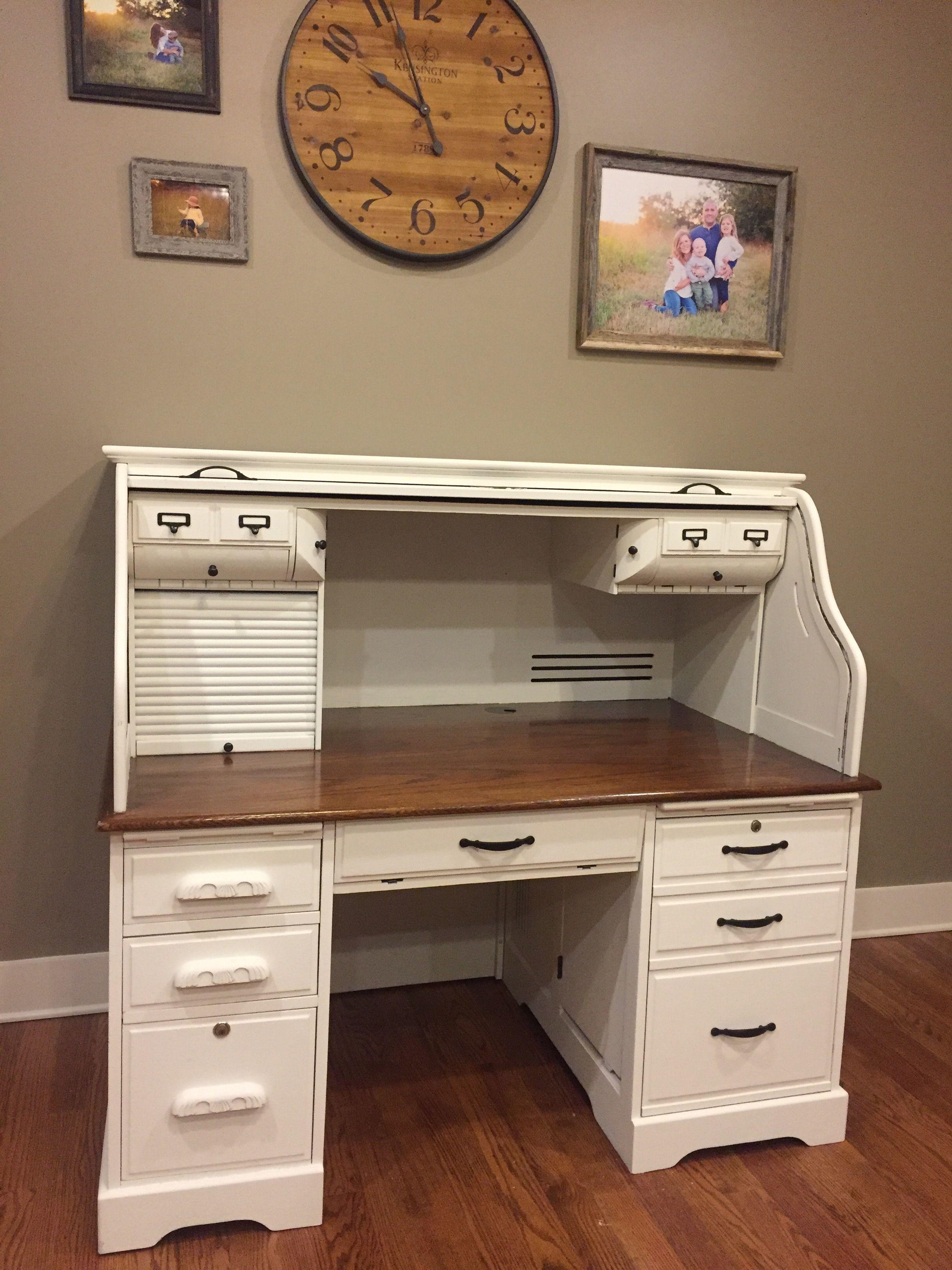 Rolltop Desk Makeover Idea