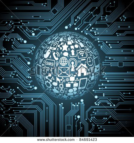 Vladgrin S Portfolio On Shutterstock Technology Wallpaper Technology Posters Textured Background