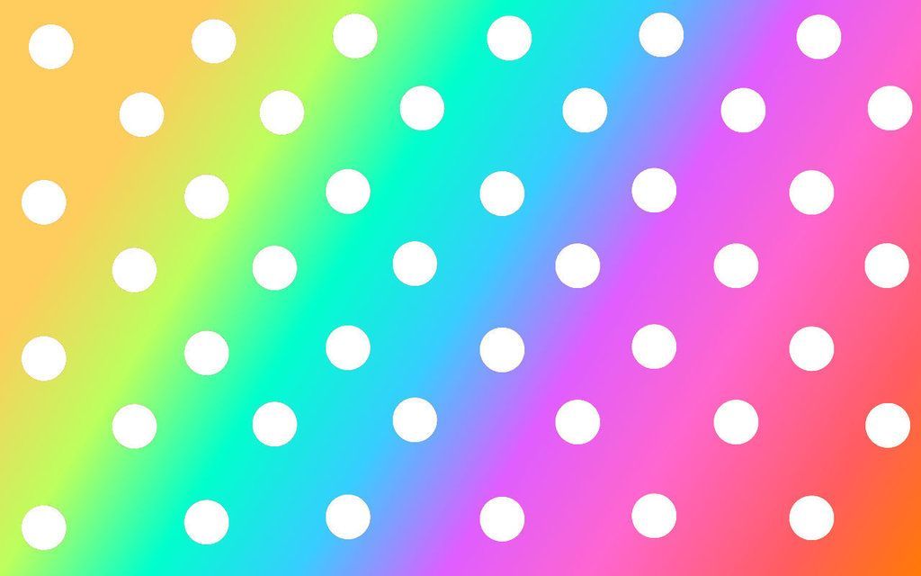 Rainbow Polka Dot Background by SweetPurple08 on deviantART