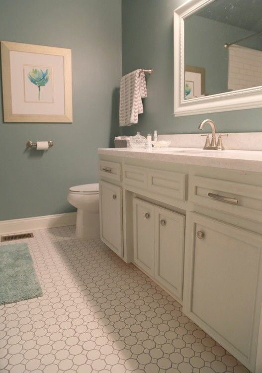 How To Update A Hall Bathroom On A Budget Windowless Bathroom Hall Bathroom Traditional Bathroom