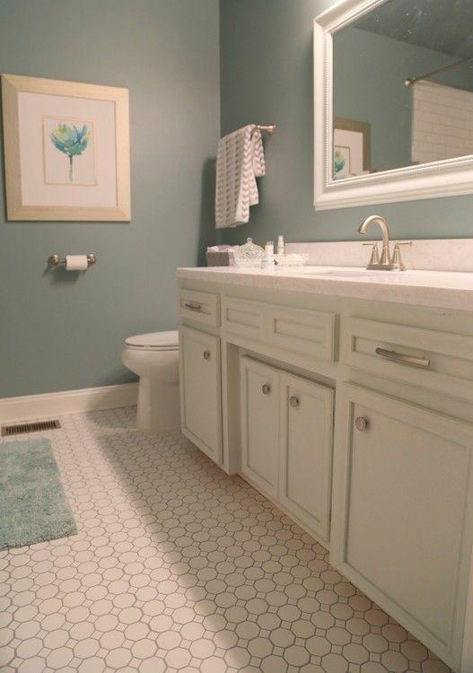 How To Update A Hall Bathroom On A Budget Hall Bathroom Budget Bathroom Traditional Bathroom