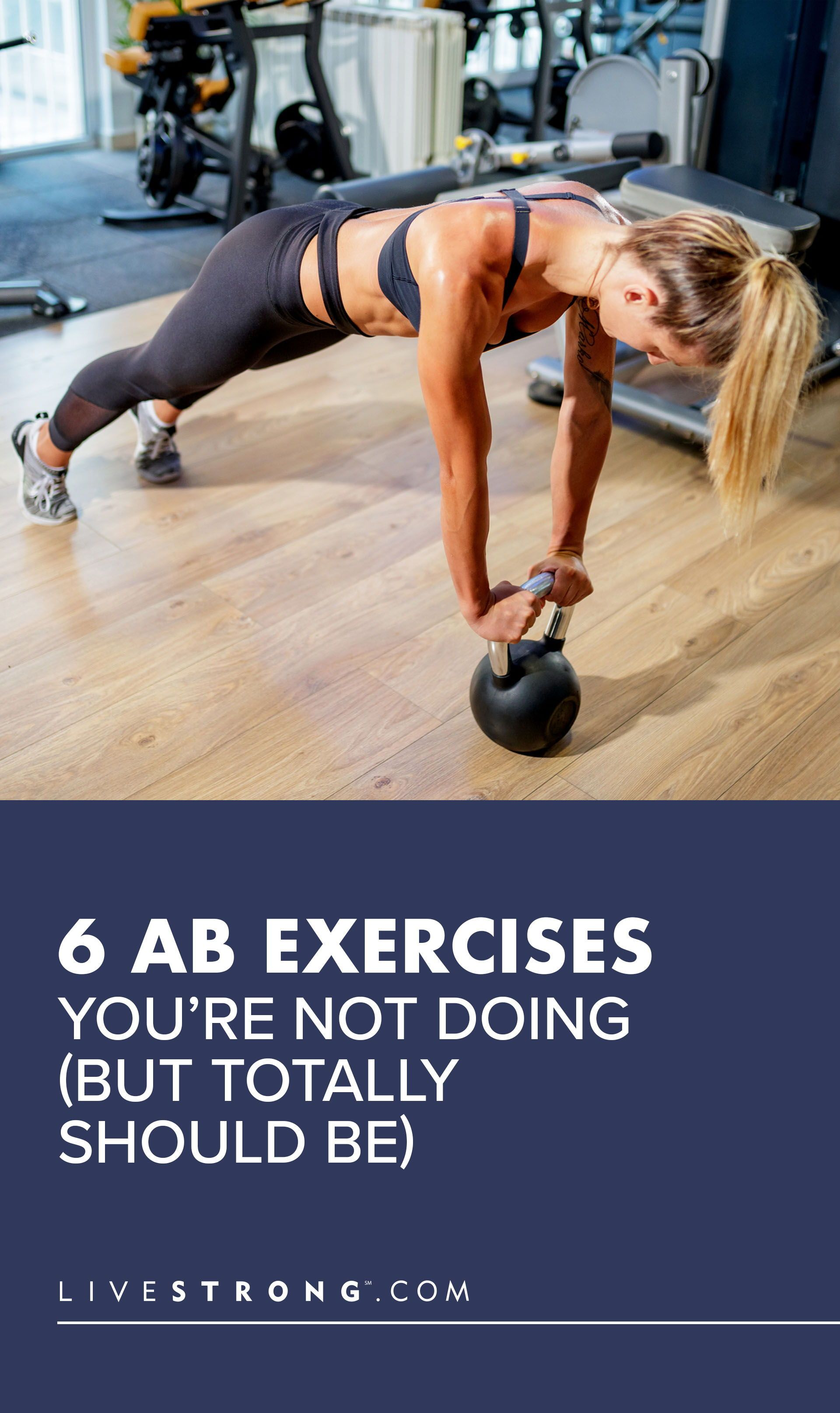 6 Ab Exercises You're Not Doing (But Totally Should Be)