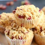Best Ever Rhubarb Streusel Muffins These Best Ever Rhubarb Streusel Muffins are the perfect sweet snack! This is such an easy recipe that's packed with fresh rhubarb and a sweet, crunchy streusel topping! Recipe from !