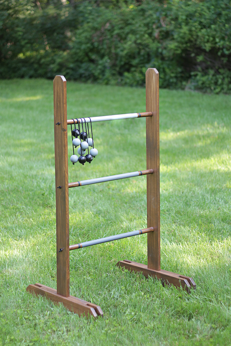 Diy Ladder Golf Game For Cookouts And Tailgates The Home Depot Blog Ladder Golf Game Ladder Golf Diy Yard Games