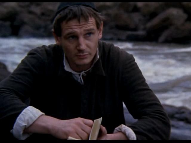 Liam Neeson in The Mission as the priest ;)   Liam neeson ...
