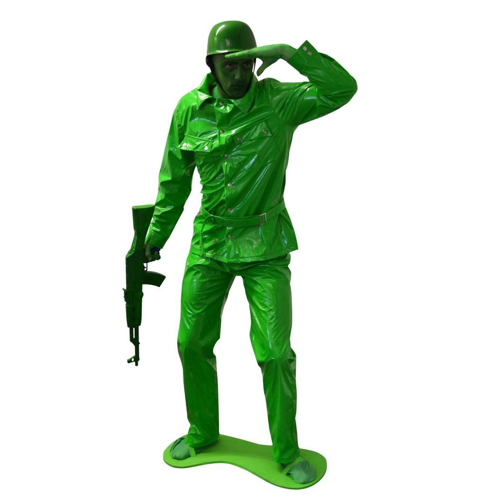 saving private morph green army man costume halloween group ...