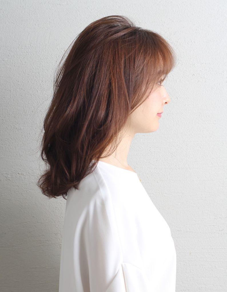大人かわいいひし形くびれミディ Wa 547 ヘアカタログ 髪型 ヘア