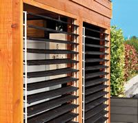 <p> A hugely innovative fencing system.  With this set you can create a panel that runs and opens creating more light, this fence louvre set can be used in any number of garden projects including gazebos. This is very much favoured by garden designers and is being used increasingly more by them.</p>