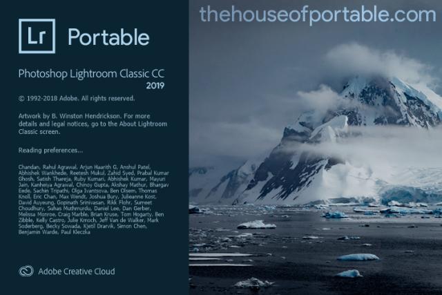 Lightroom cc portable