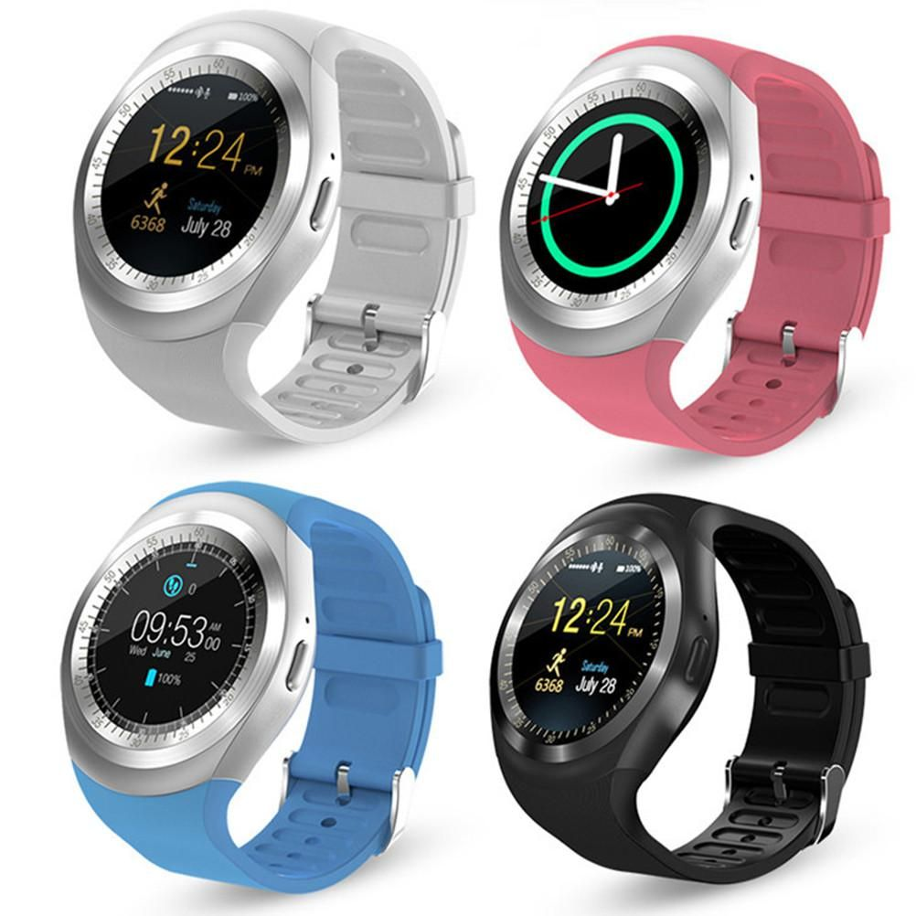 Y1 Bluetooth 3.0 Touch Screen Smart Watch For iOS Android