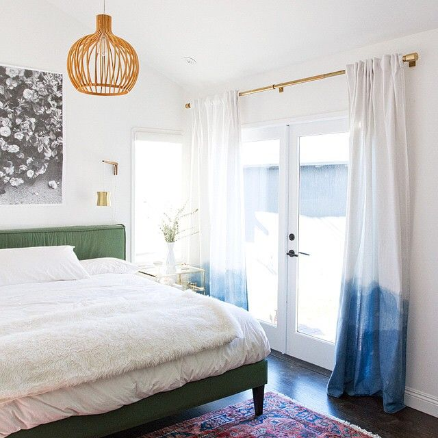 """""""spending gobs of time here and I am 100% ok with that. our master bedroom tour is up on the blog today! with the perfect nightstands and DIY dip dyed…"""""""