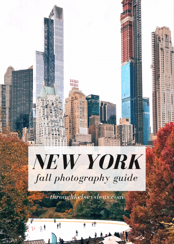 NYC Fall Photo Guide: New York Fall Bucket List #autumninnewyork