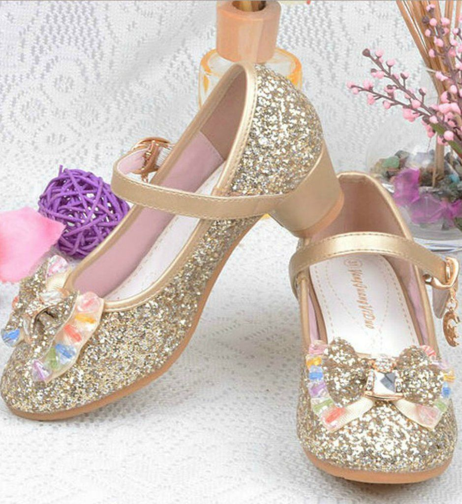 Toddler Little Girl Shoes Cribs Pinterest Glitter Flowers