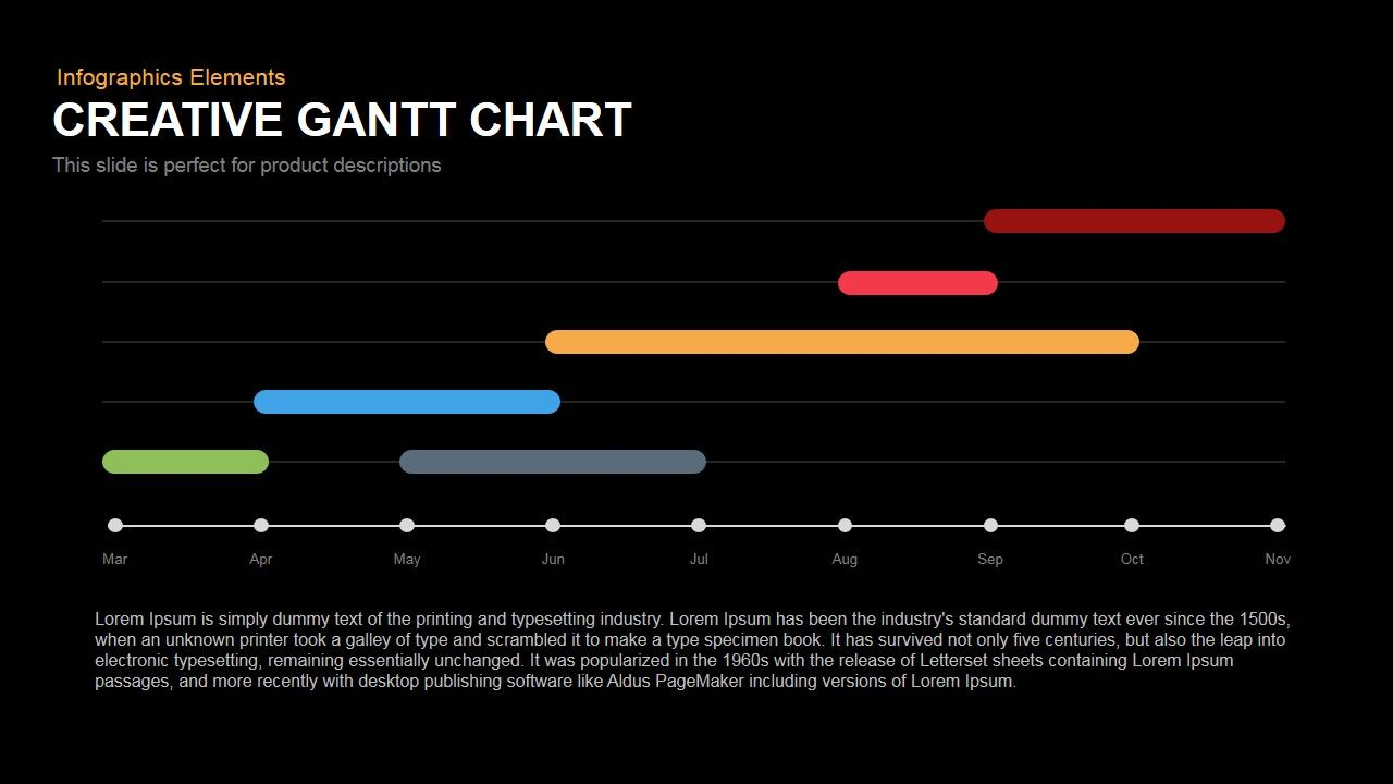 Gantt chart powerpoint keynote template pinterest chart gantt chart powerpoint keynote template nvjuhfo Image collections