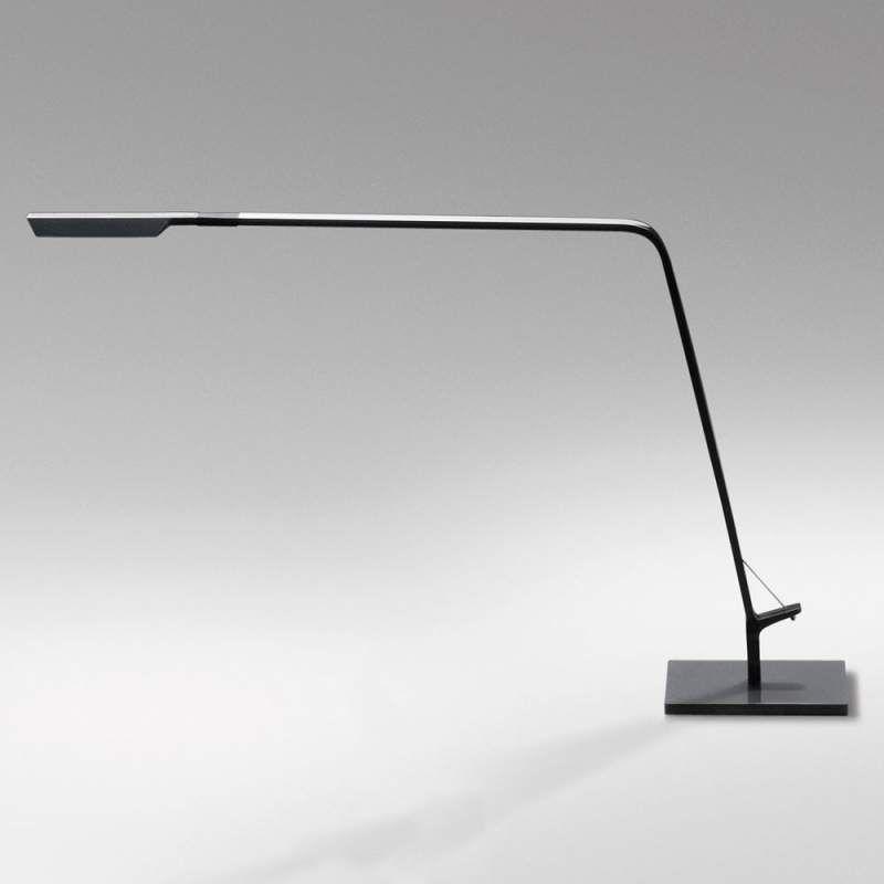 Grafietgrijze Led Tafellamp Flex Met Dimmer Tafellamp Led Bureaulamp