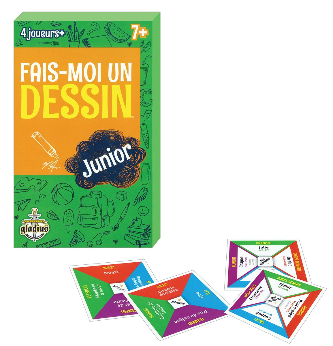 Practice French With This Fun Drawing Game Find It In The
