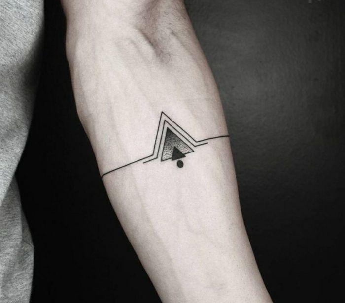 Tatuajes de triángulos para hombres: +35 Diseños hipster llenos de significado