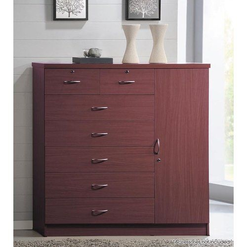 Roselyn 7 Drawer Gentleman S Chest With Images Bedroom