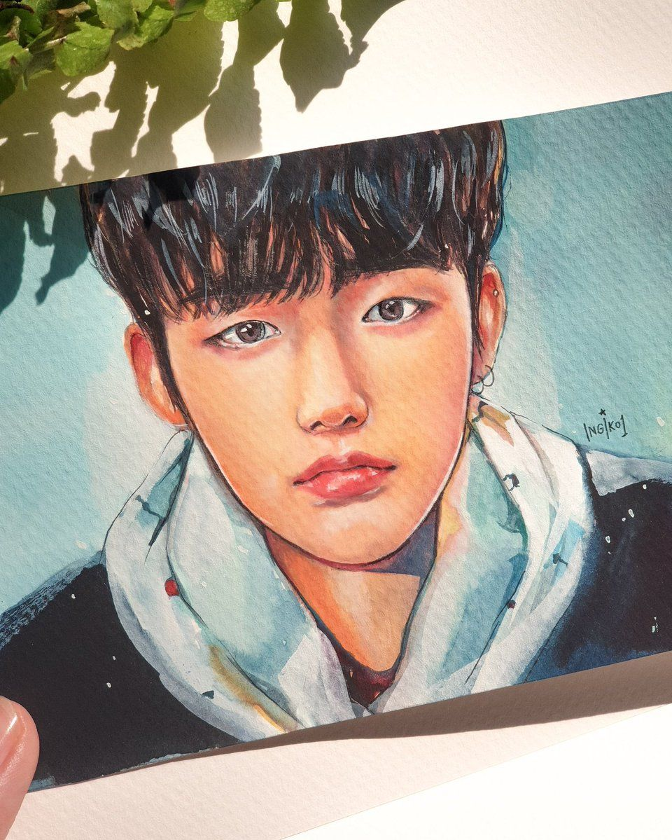 Crown Txt Nuna On Twitter Kpop Drawings Kpop Fanart Fan Art