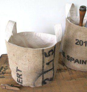 Coffee bean bags burlap  Duffle Bags