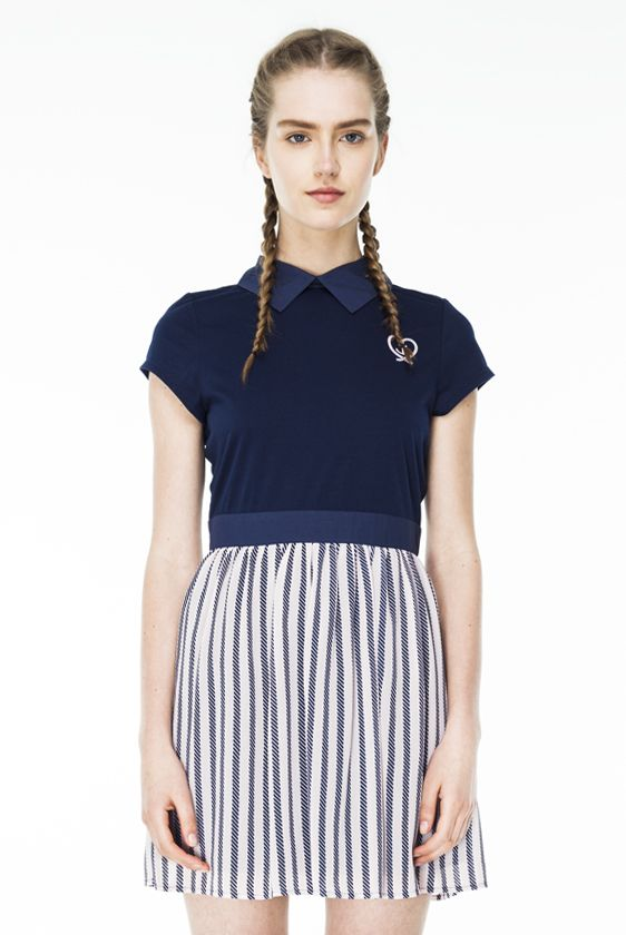 ANCHOR AND HEART DRESS