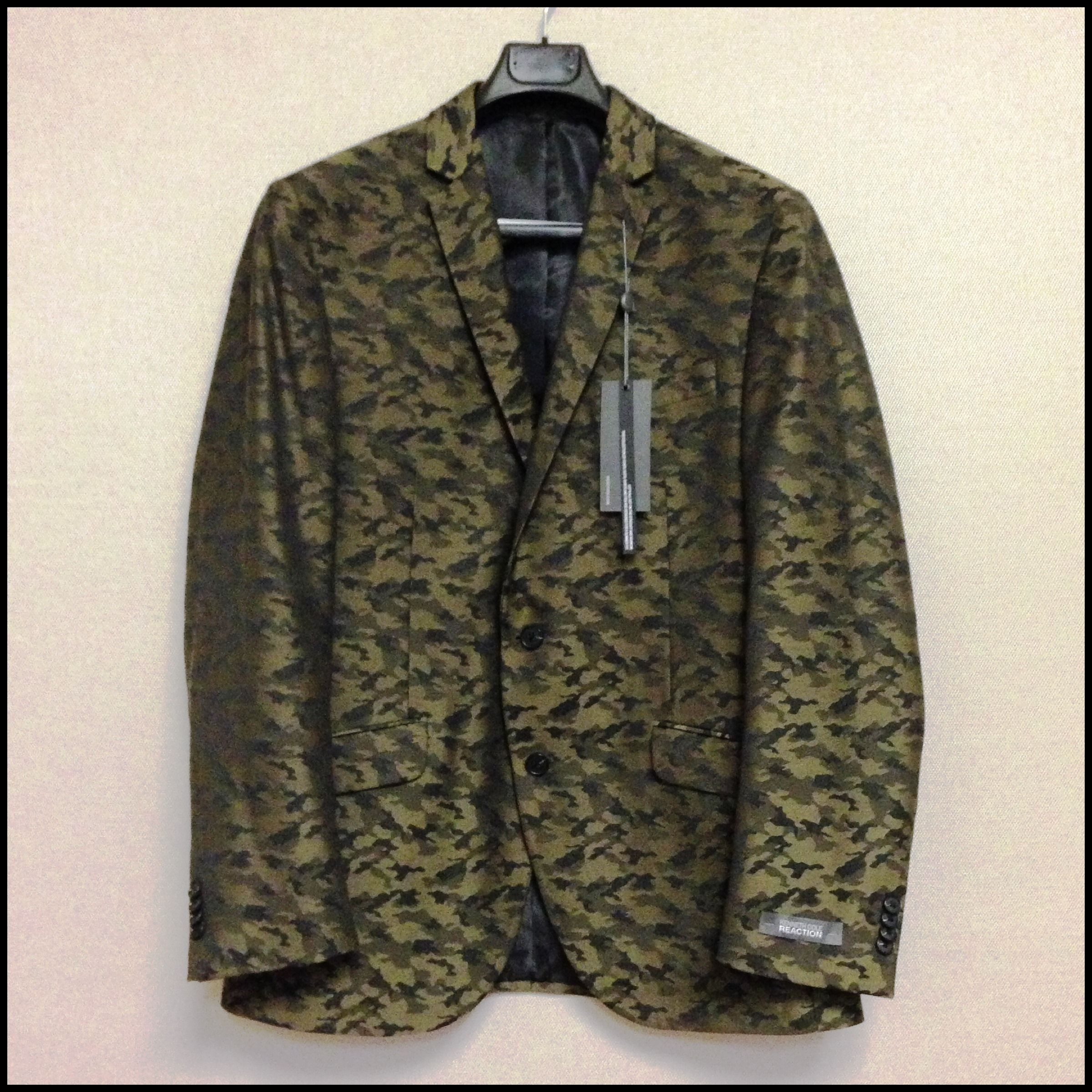 Kenneth Cole Camouflage Sport Coat #camo #patterned #jacket ...