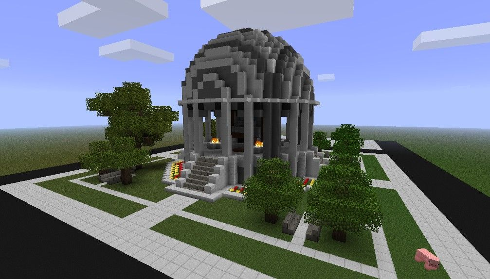 Minecraft Monument Google Search Avec Images